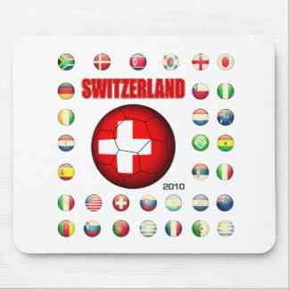Switzerland t-shirt d7 mouse pad