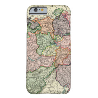 Switzerland Vintage Map iPhone 6 Barely There Case Barely There iPhone 6 Case