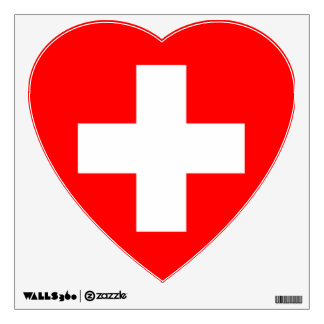 switzerland wall decal