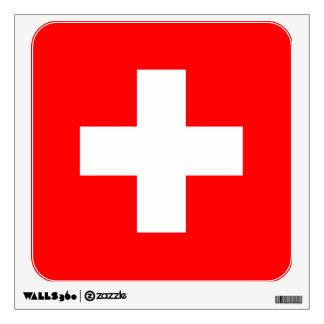 switzerland wall sticker