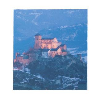 SWITZERLAND, Wallis/Valais, SION: Basilique de Notepad