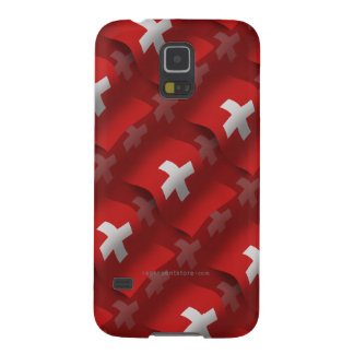 Switzerland Waving Flag Cases For Galaxy S5