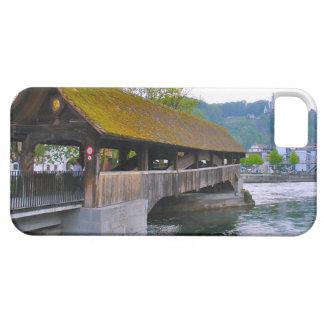 Switzerland Wooden bridge Lucerne iPhone 5 Cover