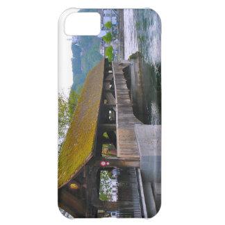Switzerland Wooden bridge Lucerne iPhone 5C Cases
