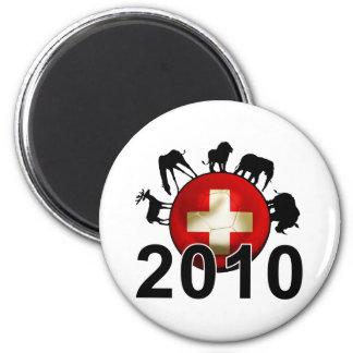 Switzerland World 2010 Refrigerator Magnet