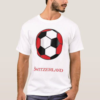 Switzerland World Cup Soccer T-Shirt