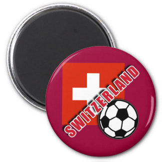 SWITZERLAND World Soccer Fan Tshirts Refrigerator Magnet