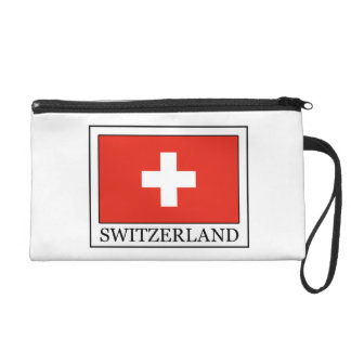 Switzerland wristlet