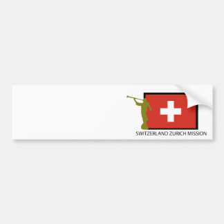 SWITZERLAND ZURICH MISSION LDS CTR BUMPER STICKER