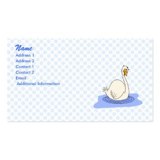 Swivanna Swan Business Card