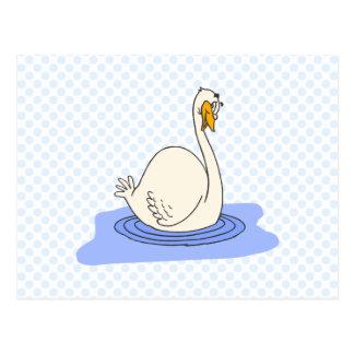Swivanna Swan Postcard