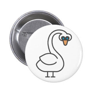 Swivvel Swan Button