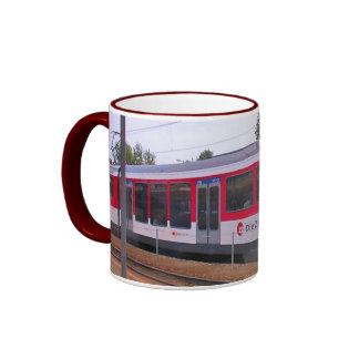 Swizerland, intercity train mugs