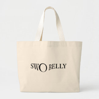 Swo Belly Tee Large Tote Bag