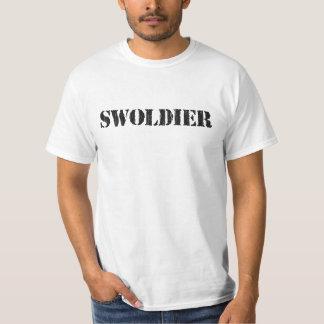 Swoldier Swole US Soldier T-Shirt
