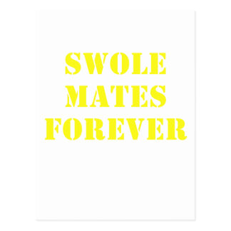 Swole Mates Forever Post Card