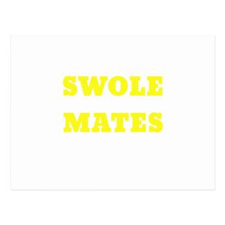 Swole Mates Postcard