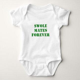 Swole se acopla para siempre mameluco de bebé