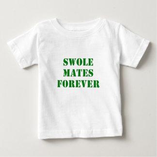 Swole se acopla para siempre playera de bebé
