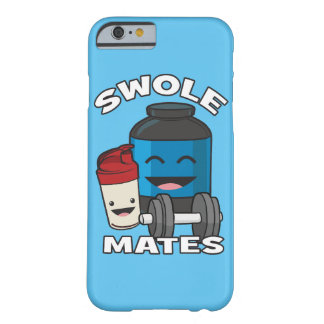 SWOLEMATES Funny Protein Bodybuilding Motivational Barely There iPhone 6 Case