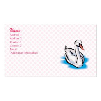 Swonald Swan Business Card