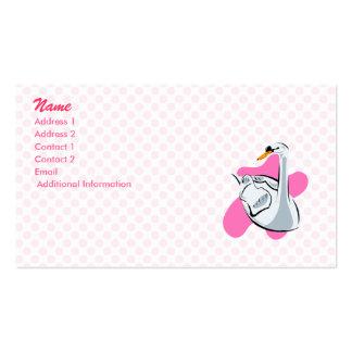 Swonnie Swan Business Card