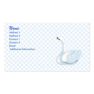Swookie Swan Business Card