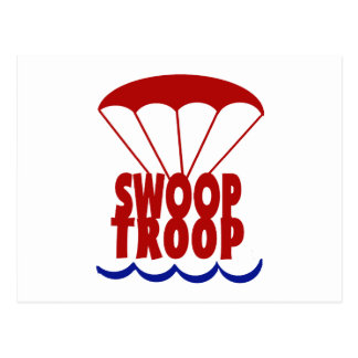 Swoop Troop Postcard