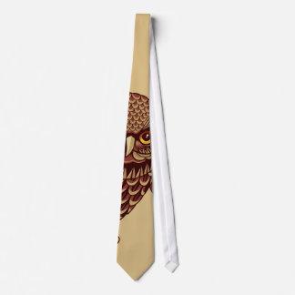 Swooping Owl Neck Tie