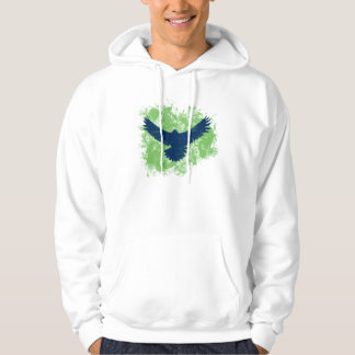 Swooping Seahawk Bird for the Game Hoodie