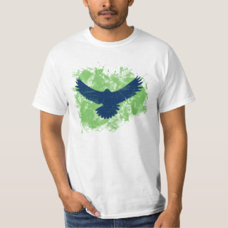 Swooping Seahawk Bird for the Game Shirt