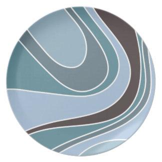 Swoosh Ancient Melamine Plate