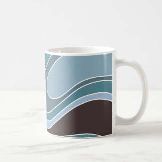 Swoosh antiguo taza de café