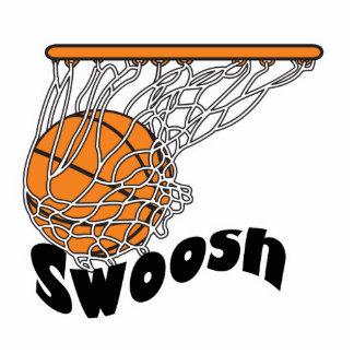 swoosh basketball acrylic cut out