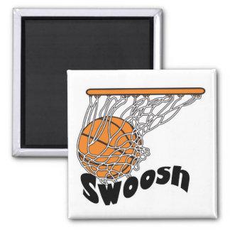 swoosh basketball refrigerator magnets