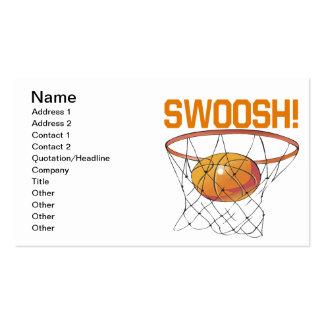 Swoosh Business Card