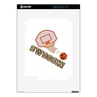 Swoosh! Decal For The iPad 2