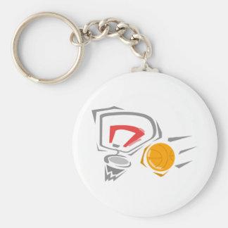 Swoosh Keychain
