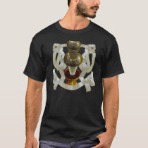 Sword and Chalice design with ribbon knotwork T-Shirt