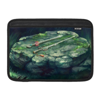 Sword and Flute Macbook Air Sleeve