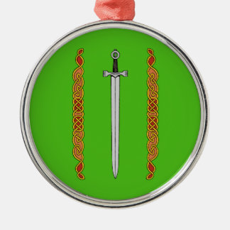 Sword and Knotwork Ornament