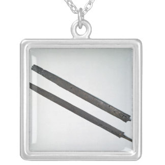 Sword and sheath, from La Tene, Switzerland Silver Plated Necklace