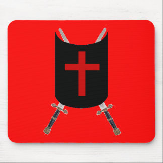 Sword and Shield of Rose Croix Mouse Pad