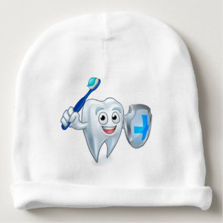 Sword and Shield Tooth Mascot Baby Beanie