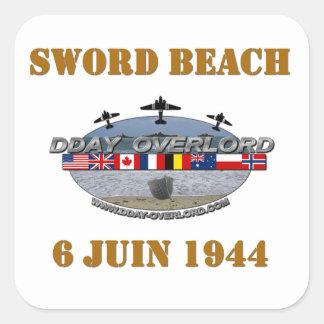 Sword Beach 1944 Square Sticker