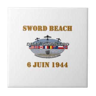 Sword Beach 1944 Tile
