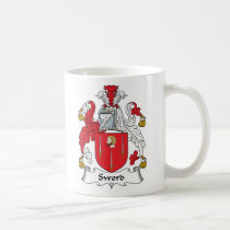 Sword Family Crest Mug