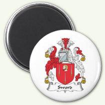 Sword Family Crest Magnet