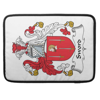 Sword Family Crest Sleeves For MacBook Pro