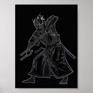 Sword Fighter Print